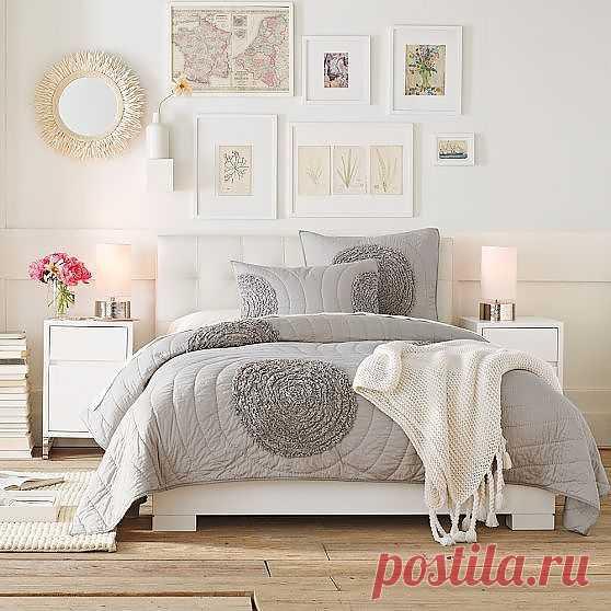 Постельное белье с интересным декором / Спальня / Модный сайт о стильной переделке одежды и интерьера