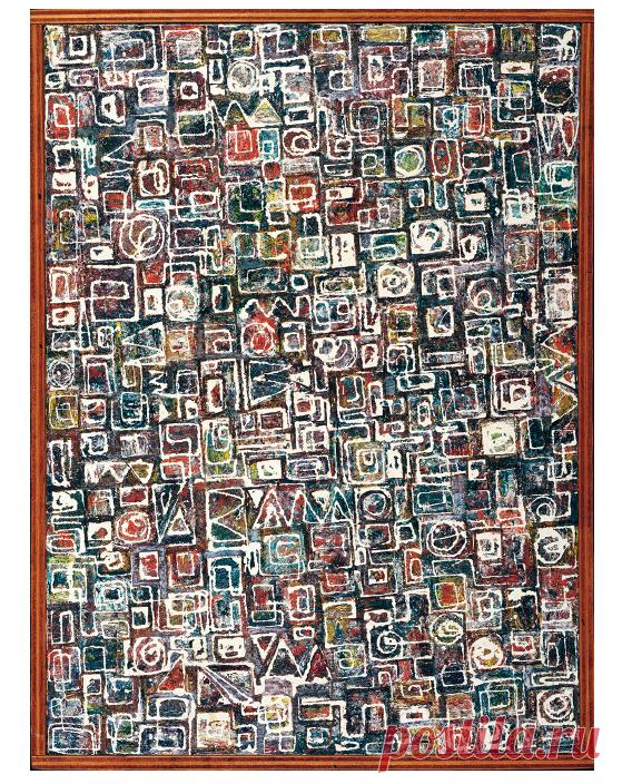 Ли Краснер. Композиция. 1949