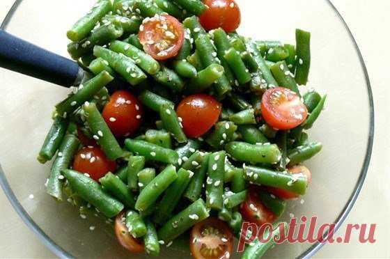 Рецепт жиросжигающего салата для похудения №31: Салатик из стручковой фасоли | Похудение и стройная фигура | Яндекс Дзен