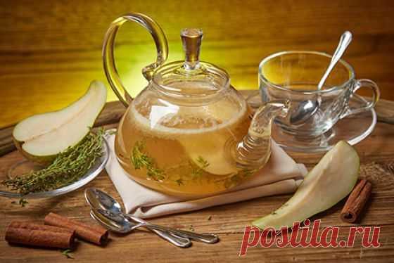 Грушевый чай с жасмином