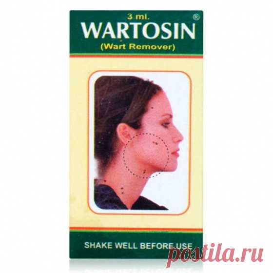 Вартосин: от бородавок и папиллом (3 мл), Wartosin Wart Remover, произв. Wartosin -
