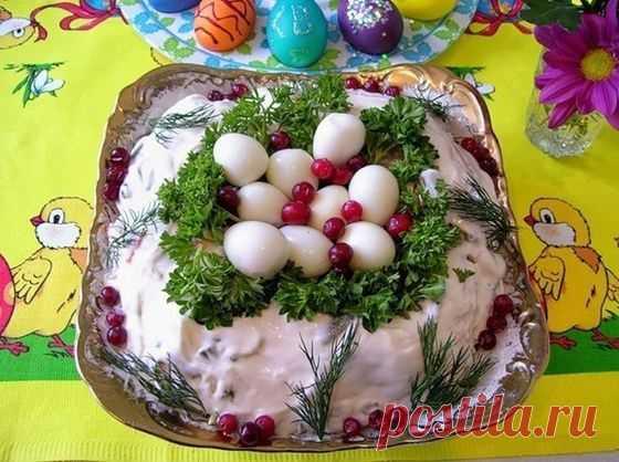 Пасхальный салат - Кулинарный рецепт - Повар в доме