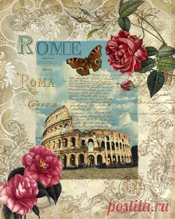Старые итальянские открытки, прикольные поздравления днем