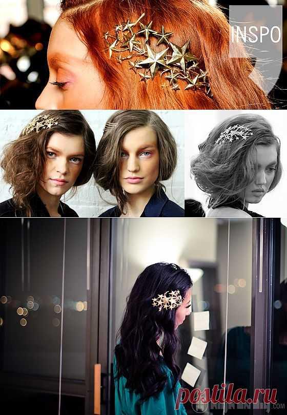 Rodarte - звезды в волосах (DIY) / Украшения для волос / Модный сайт о стильной переделке одежды и интерьера