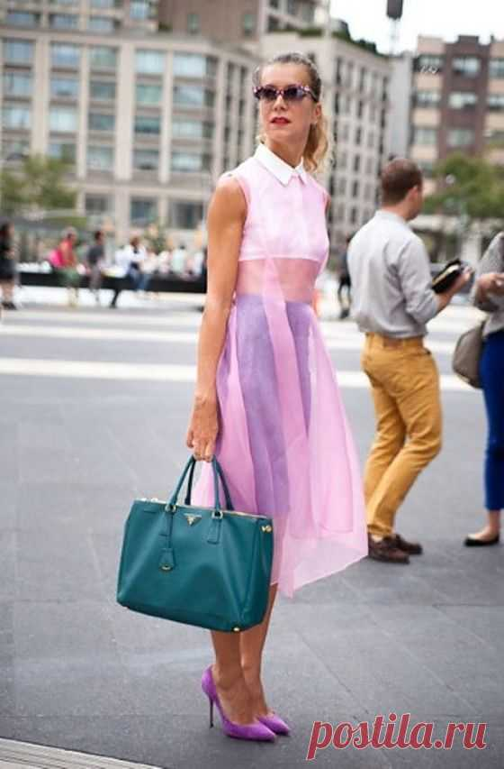 Еще одно прозрачное платьице / Тенденции / Модный сайт о стильной переделке одежды и интерьера