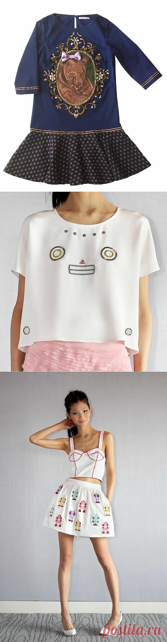 Мишки и роботы в творчестве Патриции Чанг (трафик) / Дизайнеры / Модный сайт о стильной переделке одежды и интерьера