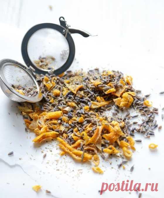 Как сделать смесь чая из любимых трав и фруктов - Домашний Блог