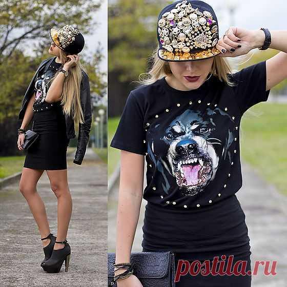 Стразы, кепка и шипы / Головные уборы / Модный сайт о стильной переделке одежды и интерьера