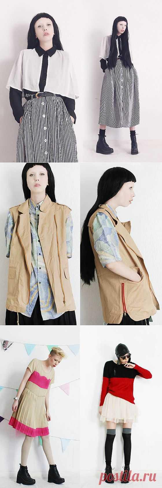 Mind The Mustard - оксюморон / Лукбуки / Модный сайт о стильной переделке одежды и интерьера