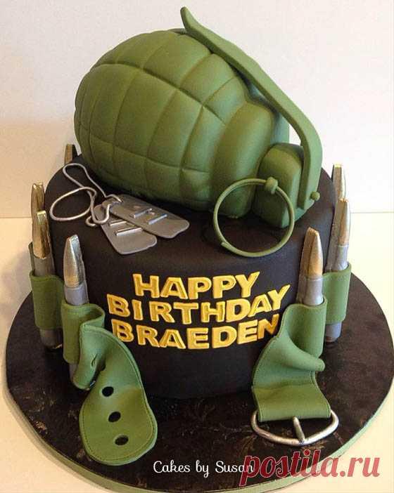торт для военных картинки сейчас выглядят красивые