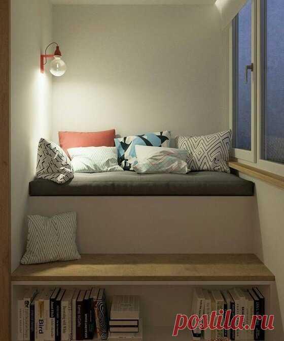 Лоджия 3 метра - это шкаф, стол и диванчик. Недорогие и простые идеи...   Дизайнер интерьера & Любитель   Яндекс Дзен