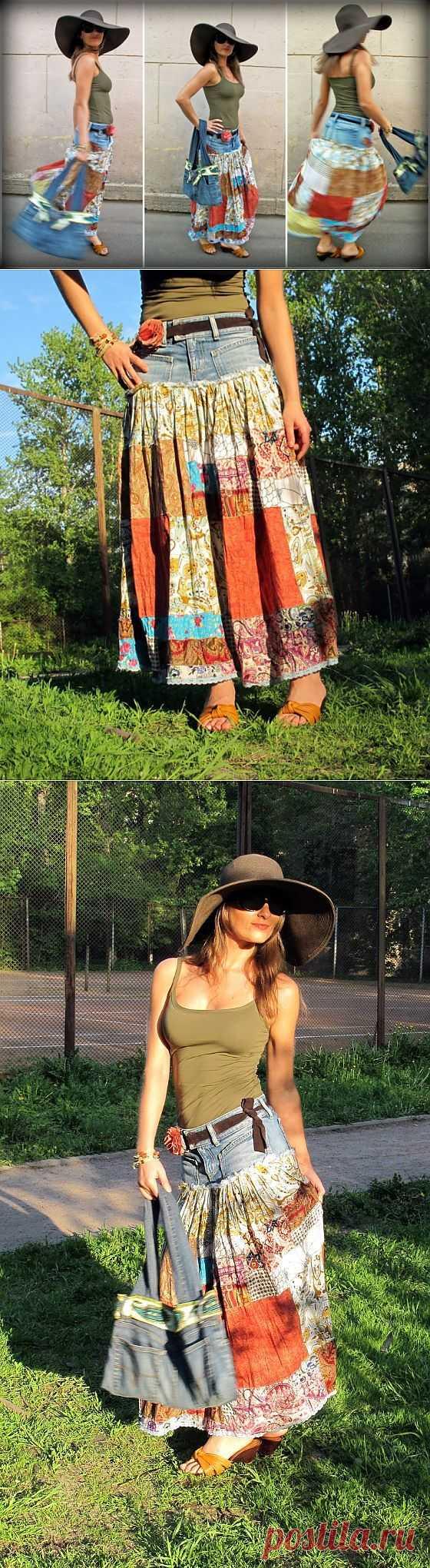 Юбка из того что было / Юбки и их переделки / Модный сайт о стильной переделке одежды и интерьера