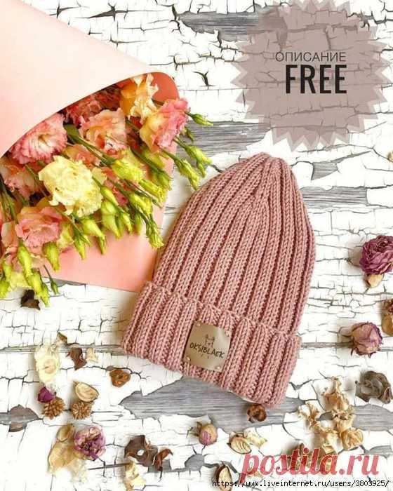 Описание такой популярной сегодня шапки-резинки с интересной модной макушкой «домиком»