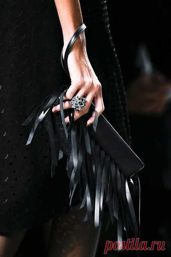 Клатч из кожи / Кожа / Модный сайт о стильной переделке одежды и интерьера