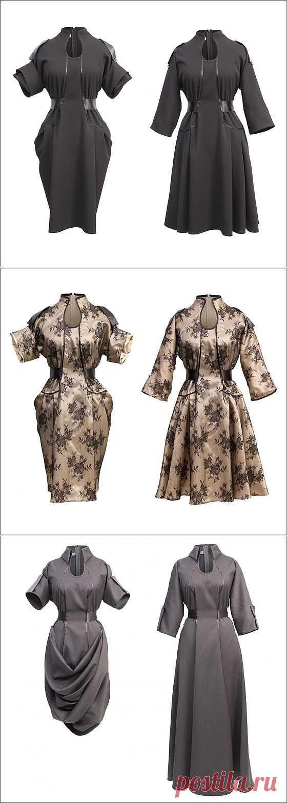 Платья-трансформеры от Jolier / Дизайнеры / Модный сайт о стильной переделке одежды и интерьера