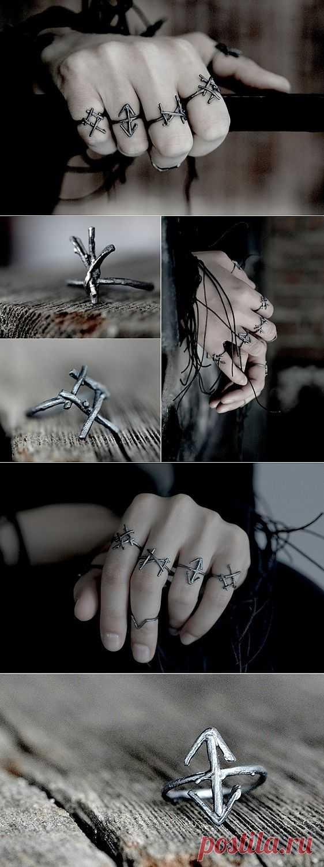 Rune Rings / Вещь / Модный сайт о стильной переделке одежды и интерьера