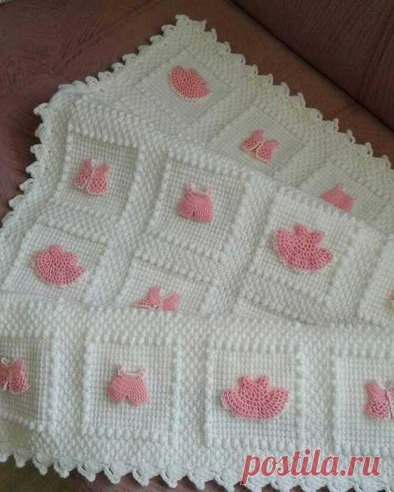 örgü bebek battaniyeler – Elişi Marketi, Örgü