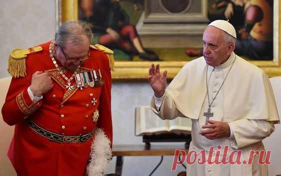 Великий Магистр и Папа Римский