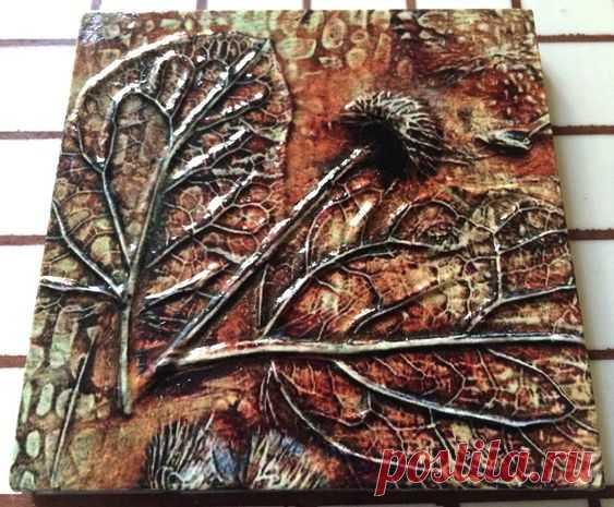 плитка керамическая с растениями, плитка керамическая ботаника, плитка авторская. плитка скандинавский стиль