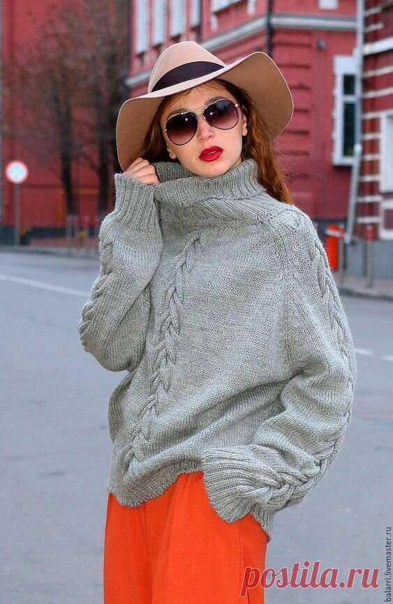 Осень в вязаной одежде оверсайз: Уютно и тепло | Офигенная