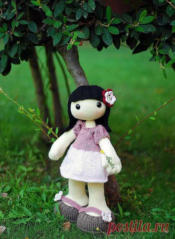 Мастер-класс: Энни. Кукла с большими ногами и руками.