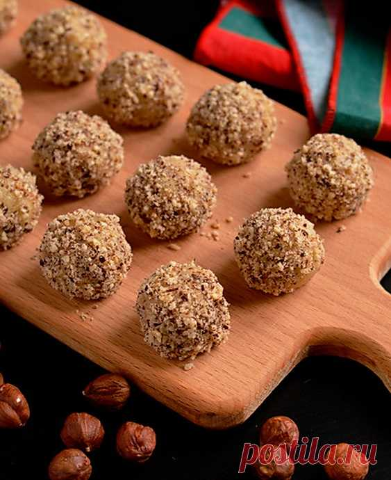 Christmas Filbertina, cookies from Rose Levy Beranbaum.