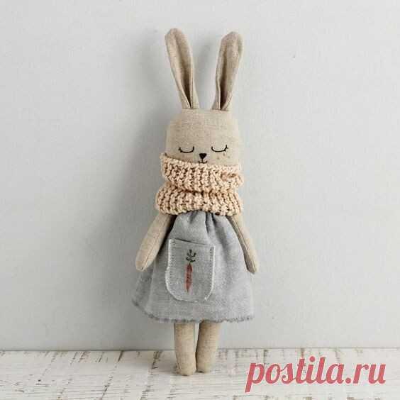 Шьем крольчат по самой простой схеме