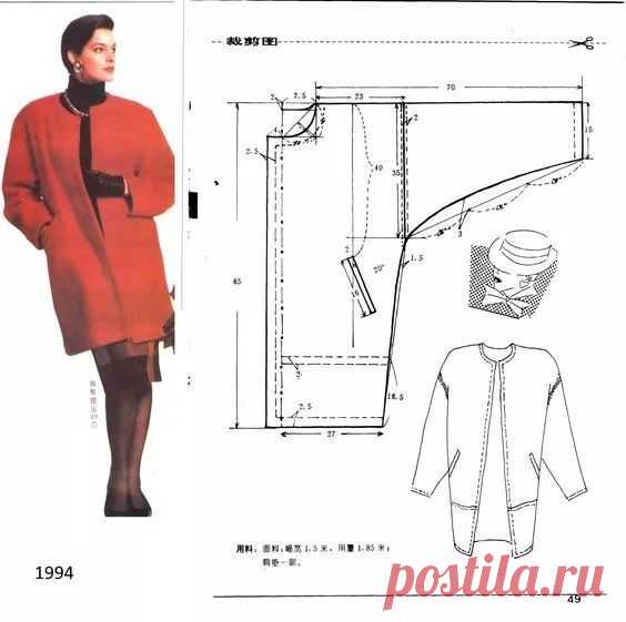 Шьем и моделируем простое и оригинальное пальто. Идеи и выкройки