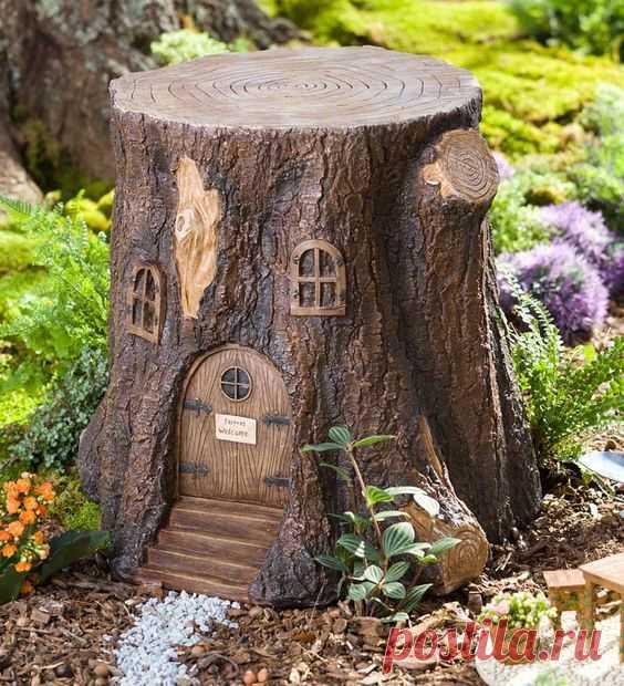 Кусочек сказки для украшения сада — Делаем руками