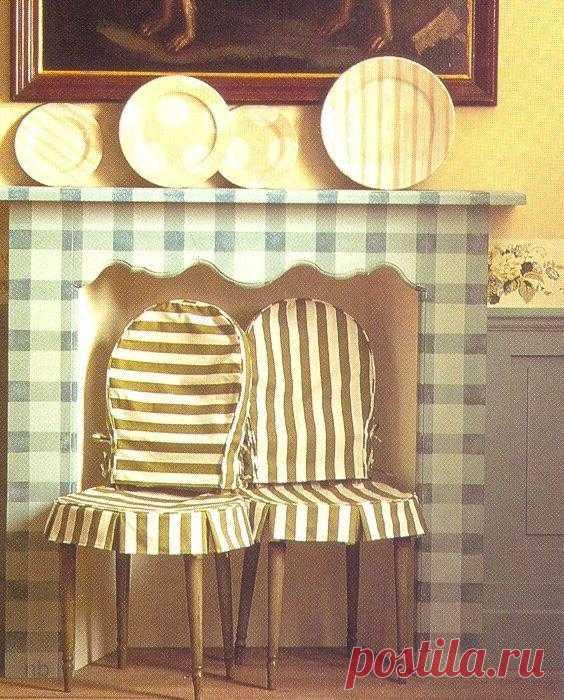 Чехлы на стулья. 5 вариантов.