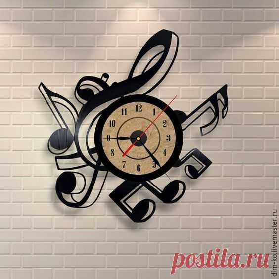 Часы настенные из виниловой пластинки Мелодия – купить в интернет-магазине на Ярмарке Мастеров с доставкой Часы настенные из виниловой пластинки Мелодия - купить или заказать в интернет-магазине на Ярмарке Мастеров | Часы изготовлены из старых виниловых пластинок.