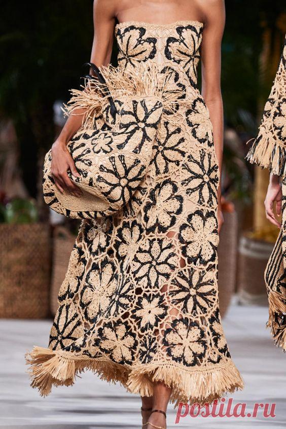 Вязаные летние платья с подиумов 2020 | Как заработать на рукоделии | Яндекс Дзен