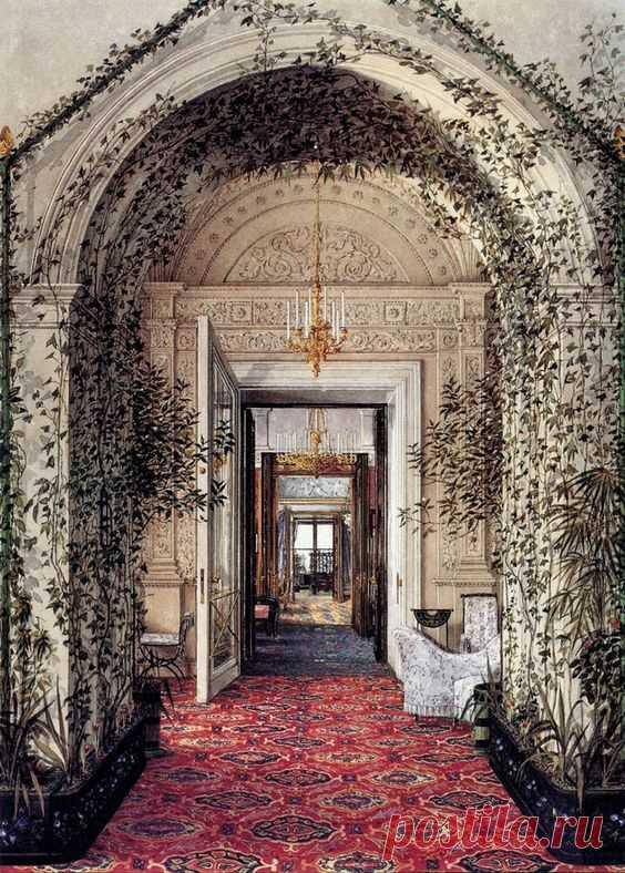 The Suite of Empress Alexandra Feodorovna at the Winter Palace in Saint Petersburg | Amazing Photography
