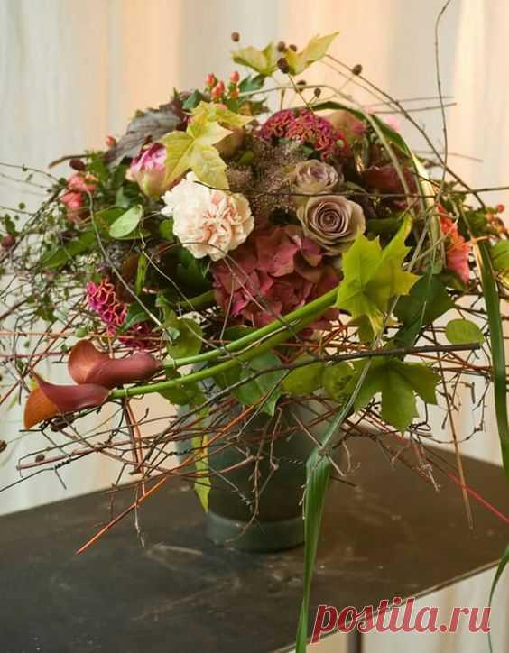 Букеты фитодизайн, цветов речной