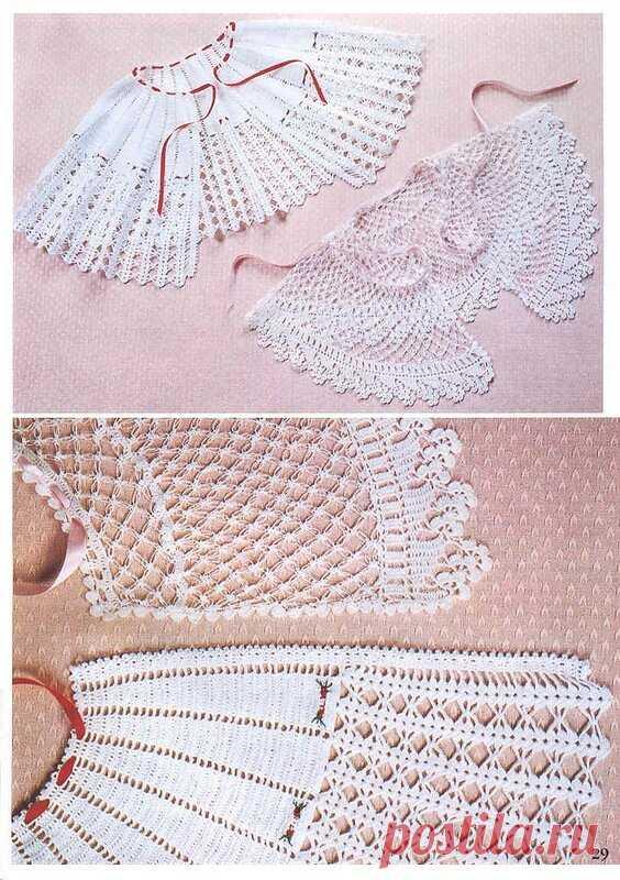Кружевной воротничок- 9 схем вязания крючком | NataliyaK | Яндекс Дзен
