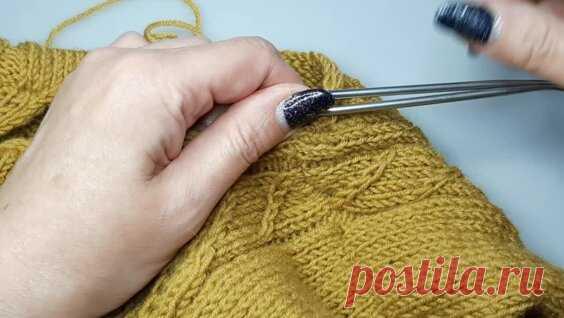 Новый свитер по мотивам старого ( заключительная часть). - Яндекс.Видео