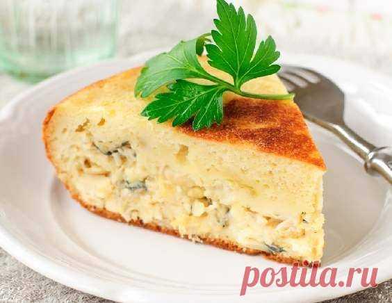 Рыбный пирог - рецепт приготовления с фото от Maggi.ru