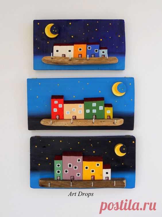 Aşağıda sizlere ahşap boyama örnekleri paylaşmak istiyorum. O kadar sevimliler ki anlatamam, tabi bana göre. Ahşabı çok severim sanki benimle yaşıyormuş