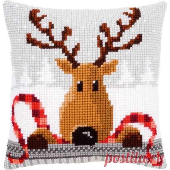 Жаккард/схемы вышивки на тему «Новогодние олени» — HandMade