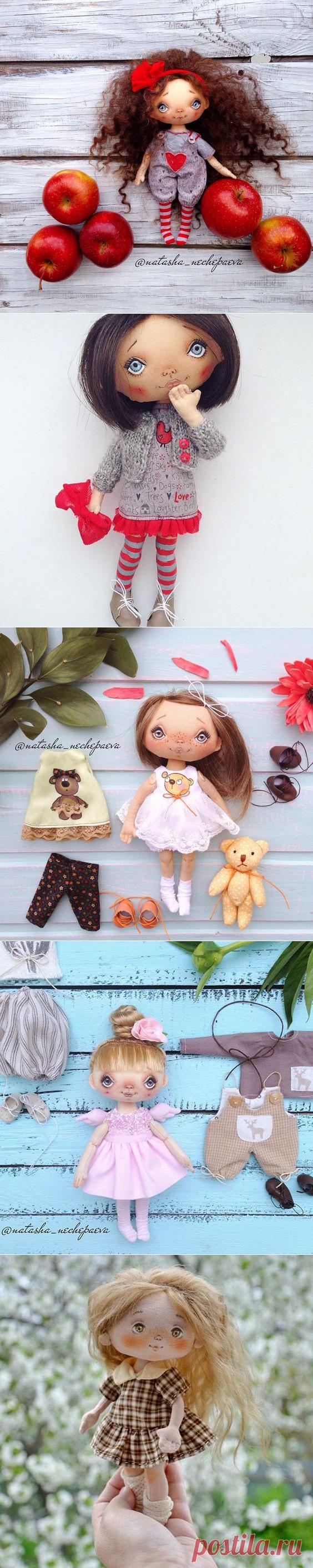 >Красивая маленькая куколка (есть выкройка)