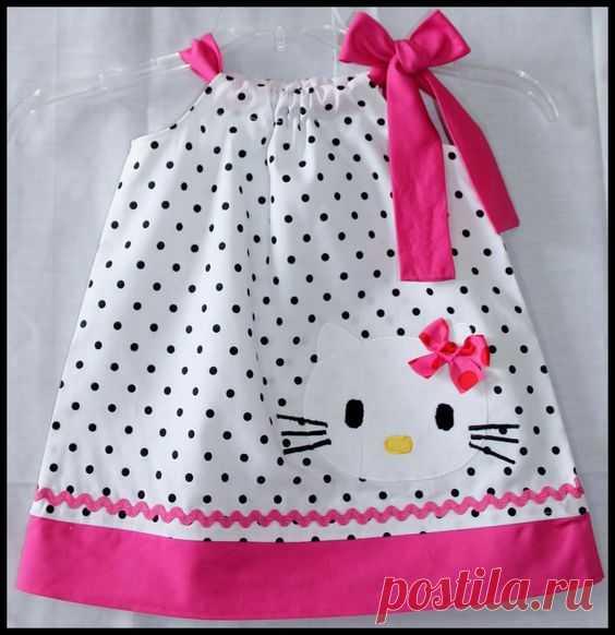 Шьем платья для маленьких модниц — Рукоделие