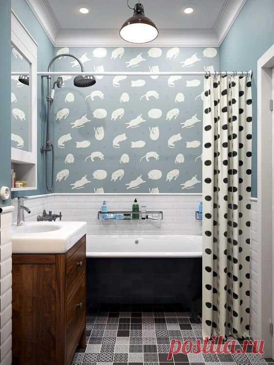 Поиск на Постиле - Дизайн маленькой ванной.