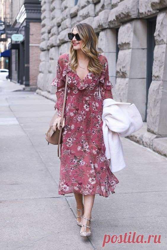 Los vestidos con de flores printom. — Es a la moda \/ Nemodno