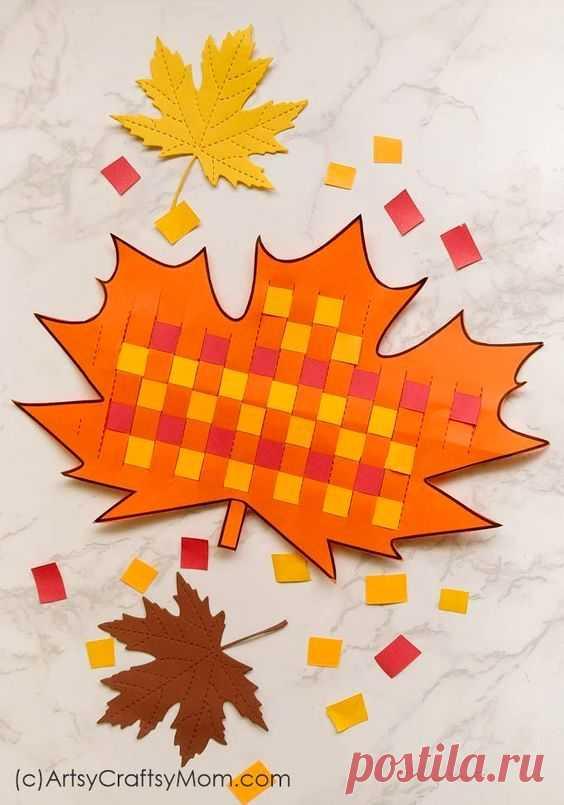 Осенние поделки для детей.