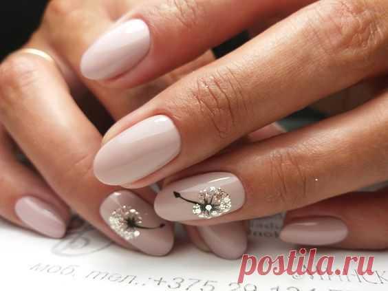 Nyud siempre en la moda. TOP 20 manicuras fantásticas en este color tierno y delgado. — el mundo interesante