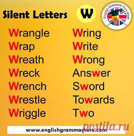 Silent W