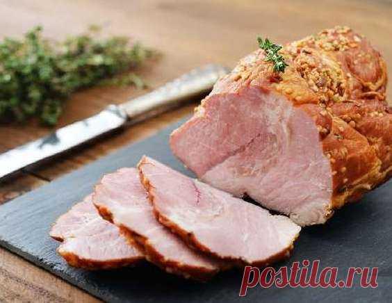Буженина из свинины — домашняя буженина в духовке | maggi.ru