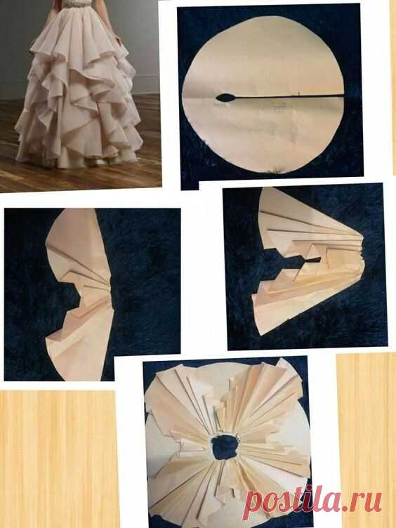 Как кроить пышную нарядную юбку Модная одежда и дизайн интерьера своими руками