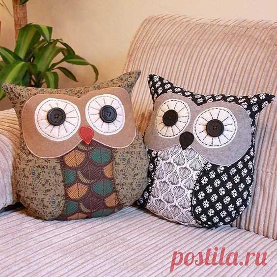 Совушки подушки