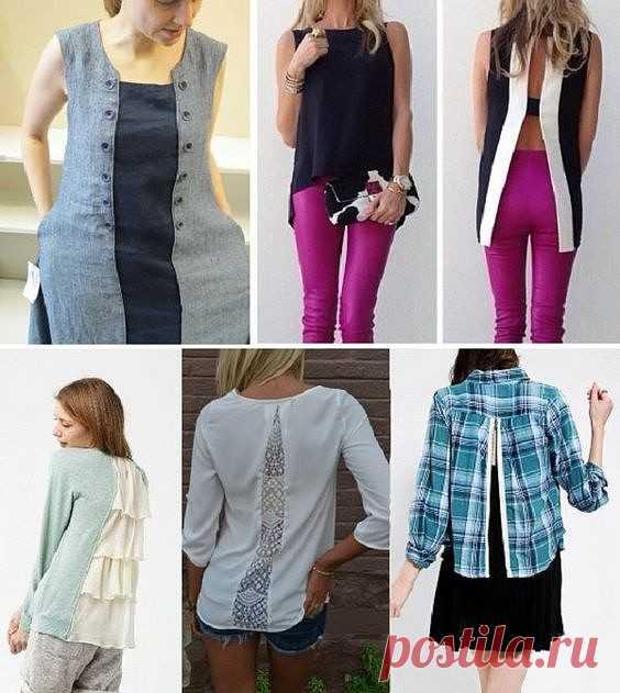 Как красиво и оригинально расширить одежду | Краше Всех